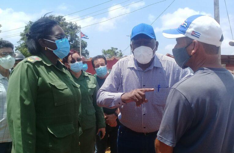 Constata vicepresidente cubano avances en programa agroalimentario y proyectos de desarrollo local (+Audio y Galería)