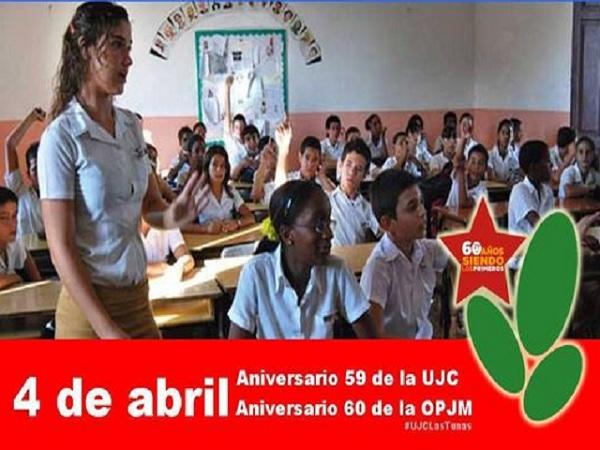 En Batabanó festejo provincial por aniversarios de las organizaciones  juvenil y pioneril (Audio)