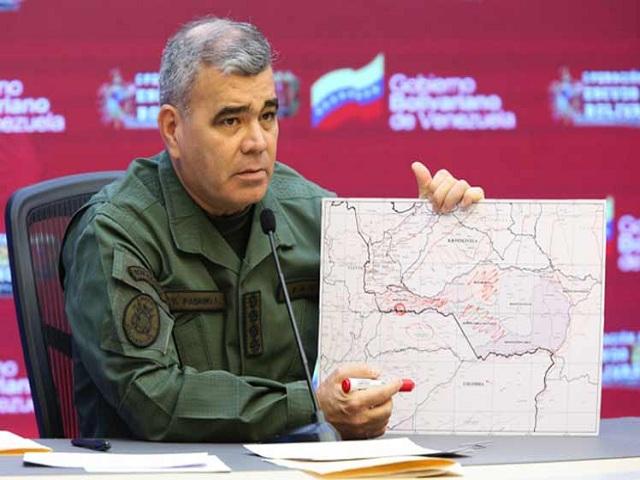 Venezuela activa zona operativa de defensa en estado de Apure
