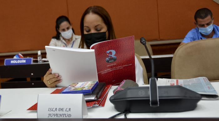 Presentaron hoy proyecto de candidatura para el Comité Central (Fotos)
