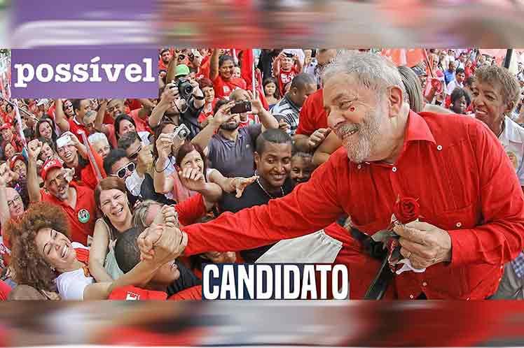 Lula podría presentarse como candidato presidencial en Brasil en 2022