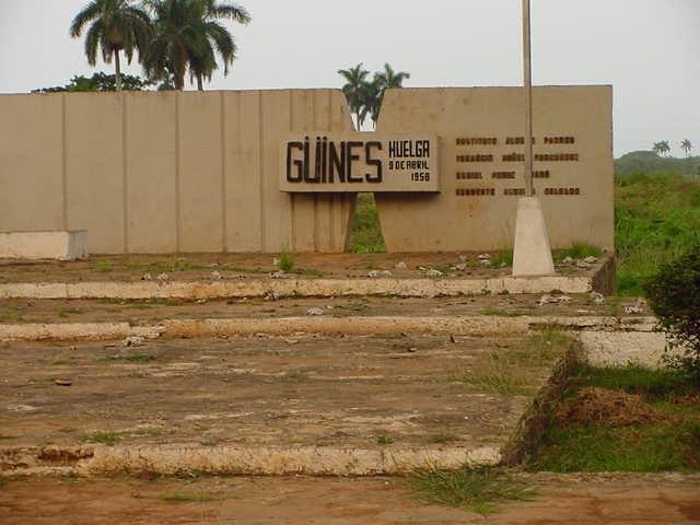Monumento a los Mártires del 9 de Abril en Güines.