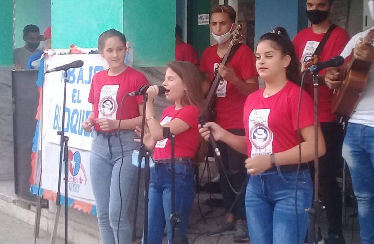 En Mayabeque exigen fin del bloqueo de Estados Unidos contra Cuba