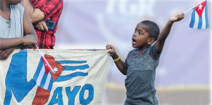 Primero de Mayo: Unidos hacemos Cuba.