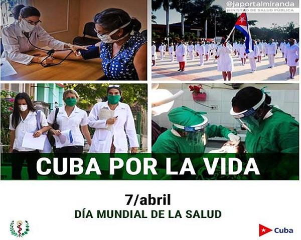 Salud Pública cubana, solidaria y humana.
