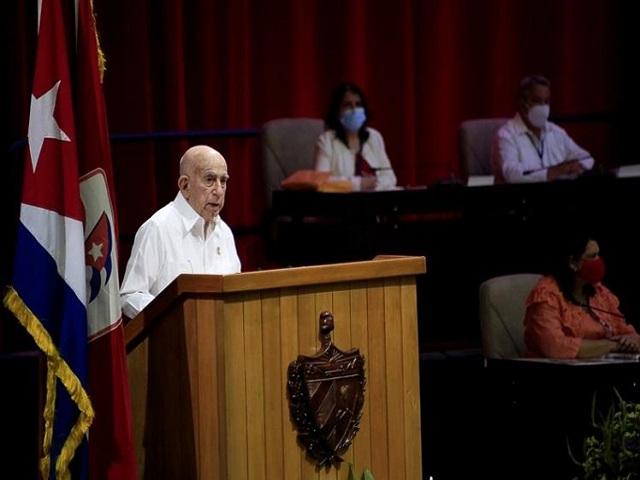 Segundo secretario del Partido Comunista de Cuba , José Ramón Machado Ventura.
