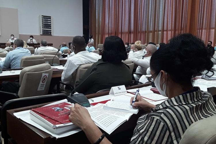 Tercer día de sesiones del 8vo. Congreso del Partido Comunista de Cuba (PCC).