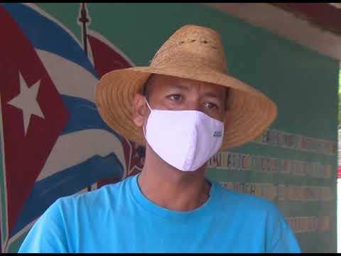 President of the Agriculture Production Cooperative Amistad Cubano Bulgara, Yunaikis Cruz Domínguez.