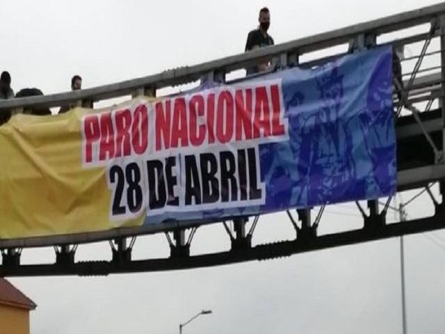 Ratifican paro en Colombia.