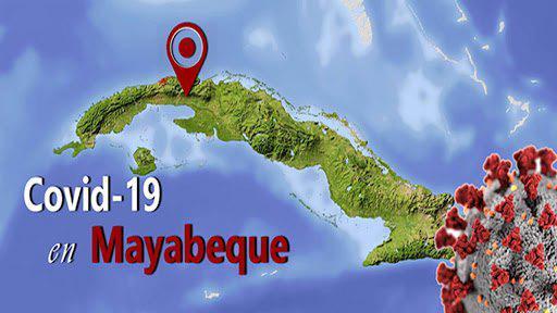 Mayabeque reporta hoy 72 casos de Covid-19.
