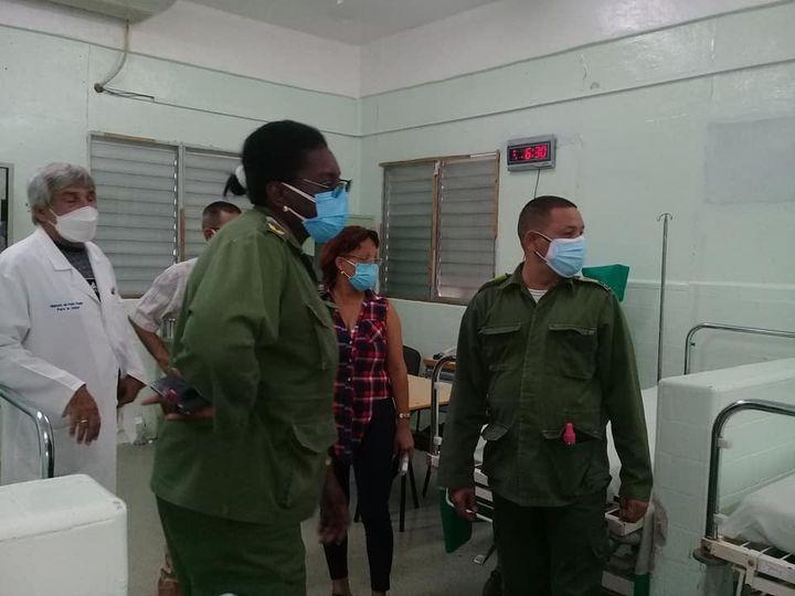 Incrementan capacidades de aislamiento y hospitalización en Mayabeque ante Covid-19. Foto:
