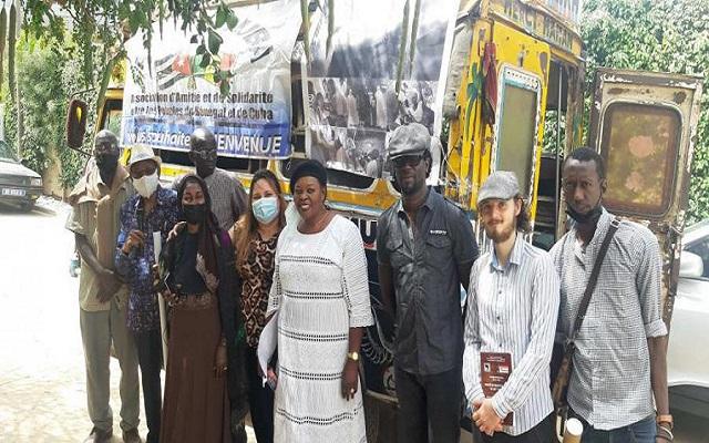 Amigos senegaleses se suman a Caravana internacional contra el bloqueo