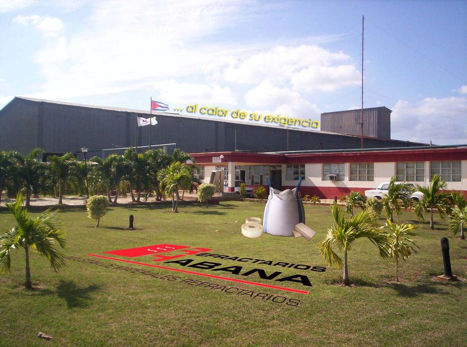 Elevan calidad productiva en Empresa Refractarios Habana luego de inversión tecnológica.