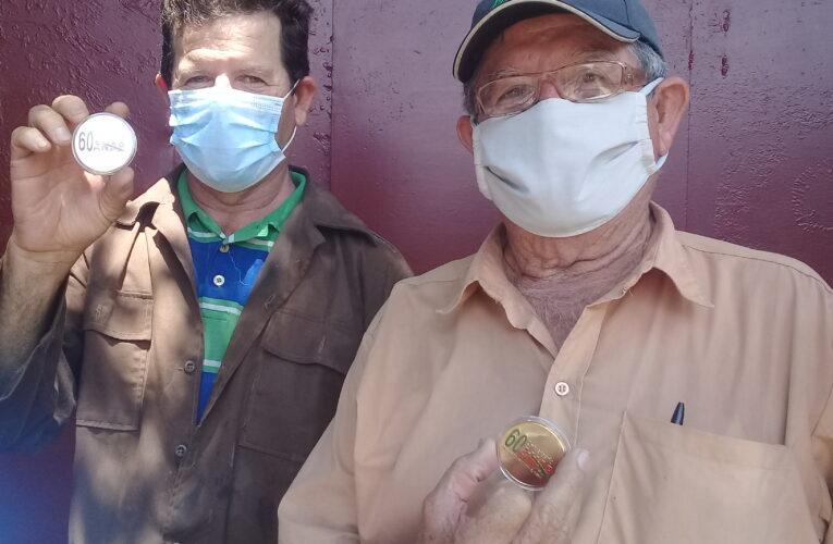Sello Aniversario 60:  orgullo de José Manuel y Arisel por ser campesinos (+Audio, Fotos y Galería)