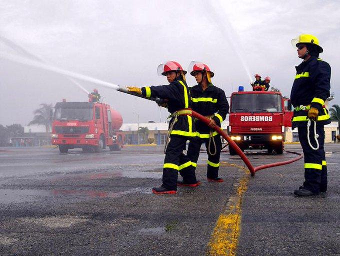 Comienza Semana Nacional de Protección contra Incendios.