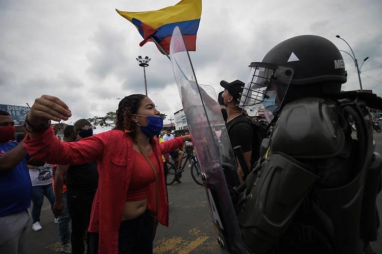 Ciudad de Cali deviene epicentro represivo contra el paro