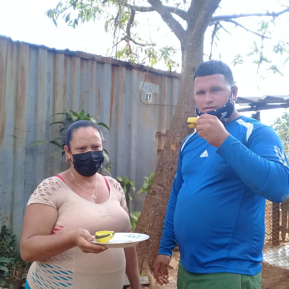 Damaris Fonseca y Wiliam Ponce, protagonistas de esta historia.