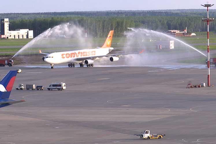 Venezuela resalta apertura de vuelo directo entre Moscú y Caracas