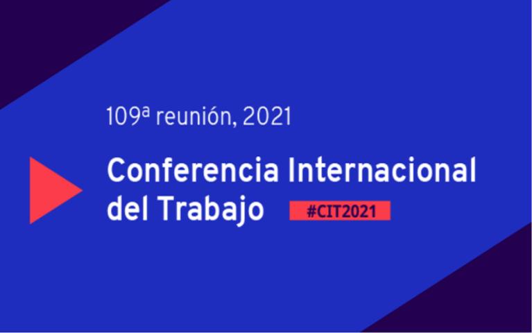 Conferencia Internacional del Trabajo centra atención en Covid-19.