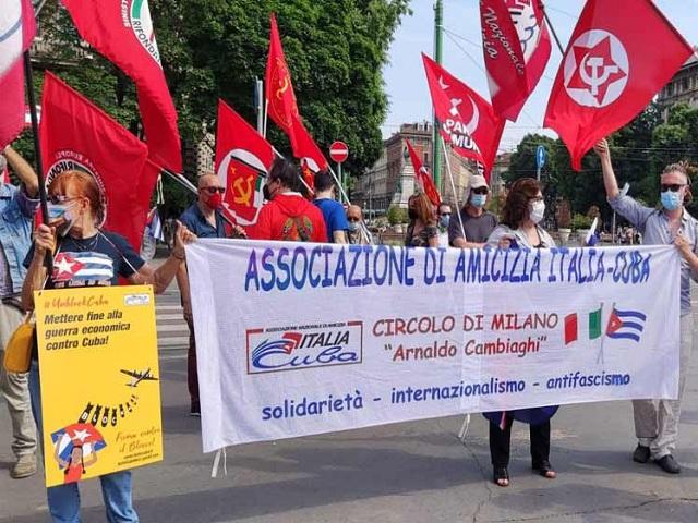 Arranca movilización mundial contra bloqueo de Estados Unidos a Cuba