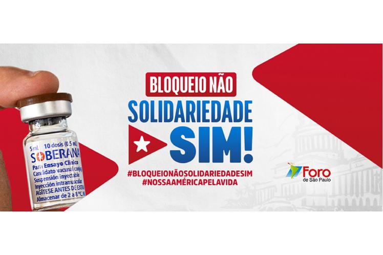 Foro de Sao Paulo refuerza campaña contra bloqueo a Cuba