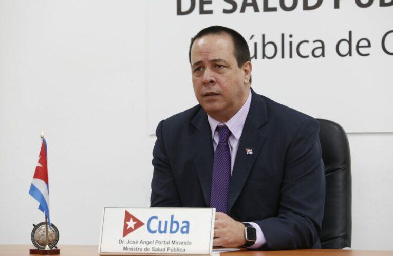 Intervención de José Angel Portal Miranda en Asamblea Mundial de la Salud