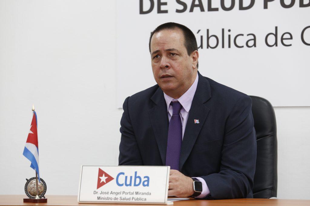 José Angel Portal Miranda, Ministro de Salud Pública de Cuba.