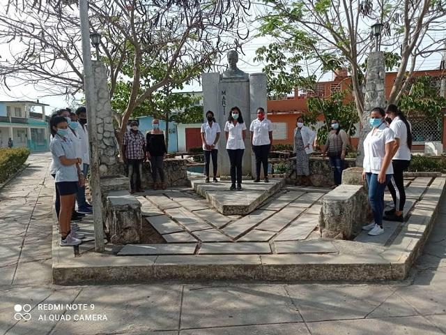 Tributo a José Martí en aniversario 126 de su caída en combate (+Audio)