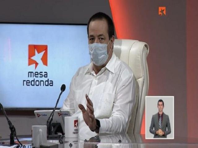 Ministro de Salud Pública, Doctor José Angel Portal Miranda.