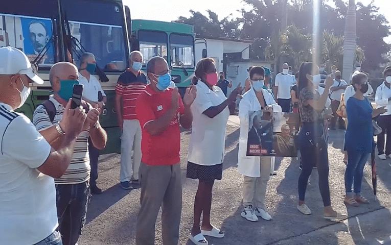 Clave cubana desde Jaruco este Primero de Mayo (Video)