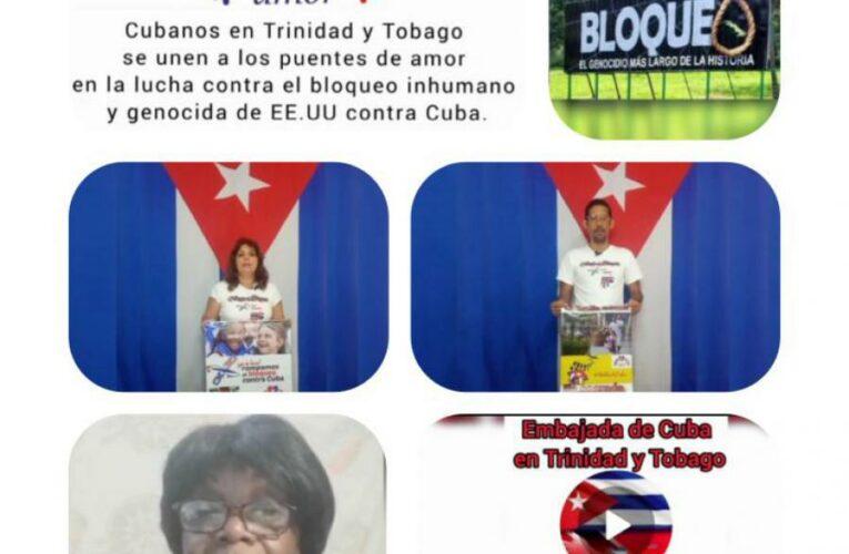 Trinidad y Tobago: Puentes de Amor en la lucha contra el bloqueo (Infografía)