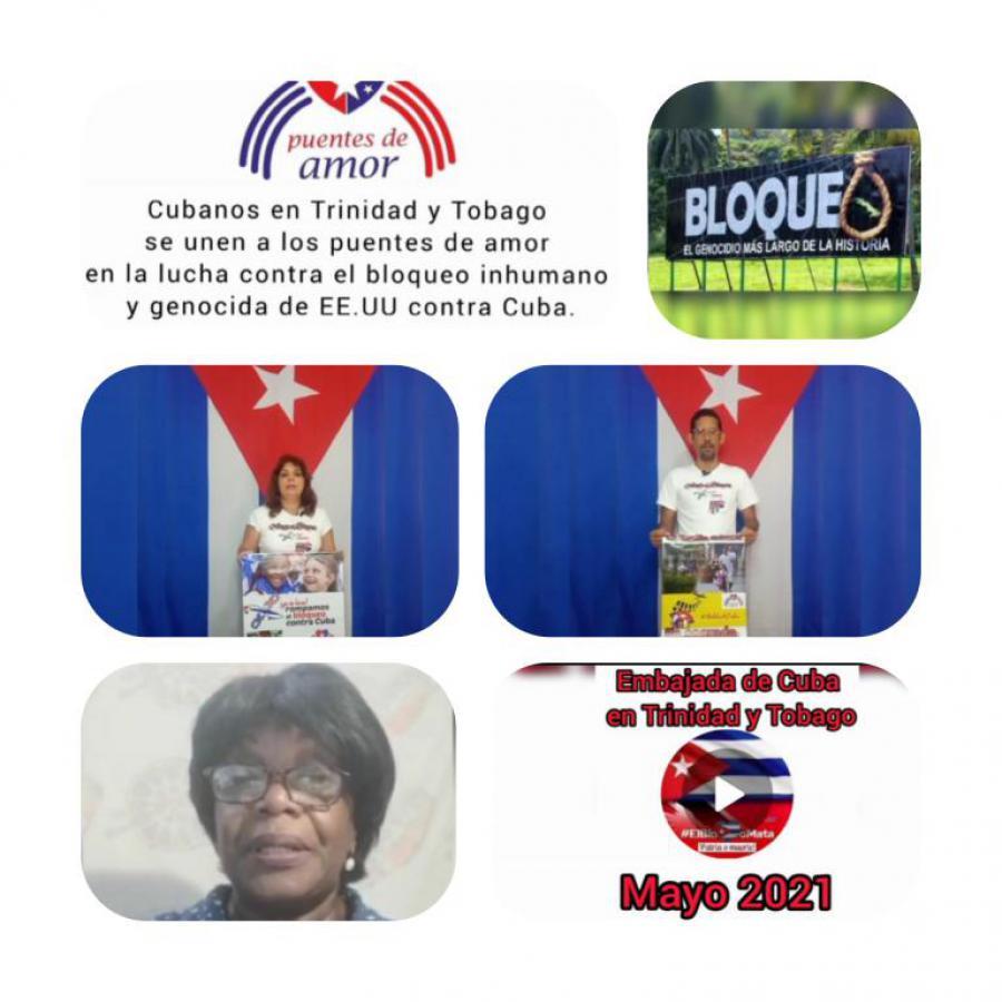 Puentes de amor desde Trinidad y Tobago.
