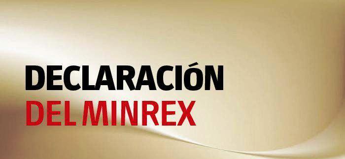 Minrex: Cuba rechaza calumnias de Estados Unidos sobre cooperación contra el terrorismo