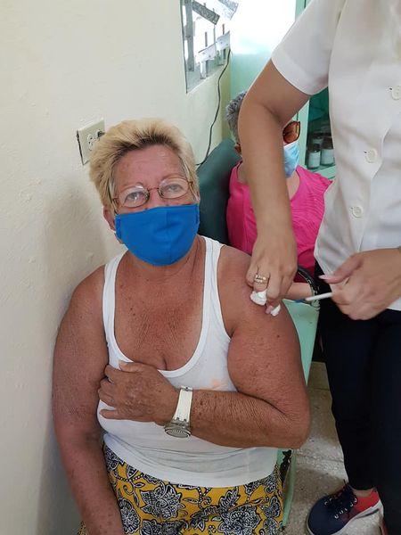 Inició en Güines intervención sanitaria masiva con candidato vacunal Soberana 02.