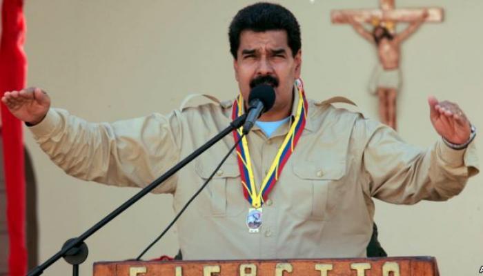 Maduro denuncia discriminación de EEUU en donación de vacunas