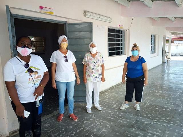 Todo listo para realizar intervención sanitaria contra la Covid-19 en Batabanó (Audio y Galería)