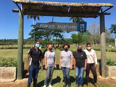 Inauguran Bosque Martiano en Mayabeque (+ Audio)