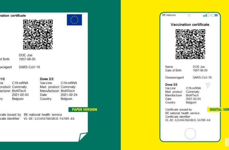 Parlamento Europeo aprueba la implantación del certificado Covid digital