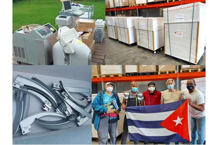 Enviarán desde Bélgica insumos médicos a Cuba