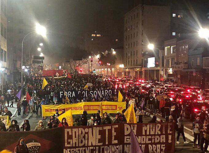 Protestas en Brasil contra el gobierno de Bolsonaro