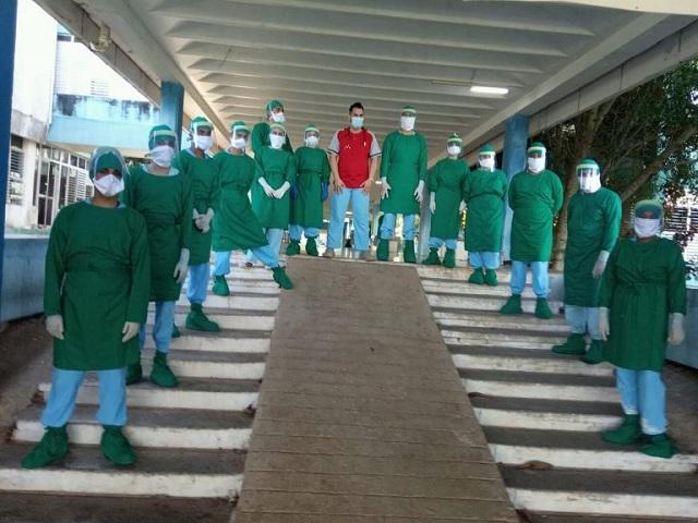 Reconocen a estudiantes del centro de aislamiento Universidad Agraria de la Habana