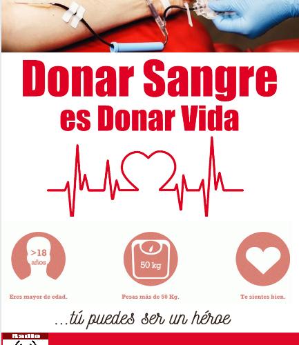 Donar sangre: gesto altruista (Infografía)