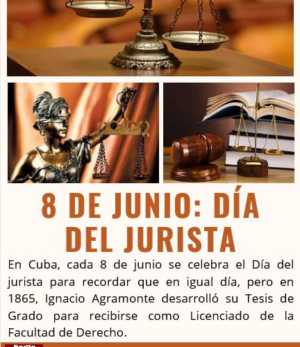 Día del Jurista en Cuba (Infografía)