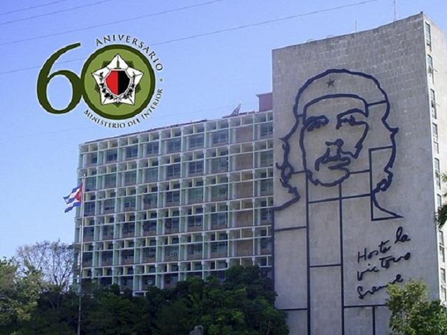 Felicita Raúl Castro a Ministerio del Interior de Cuba.