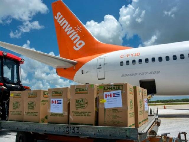 Recibe Cuba donativo con insumos médicos procedente de Canadá
