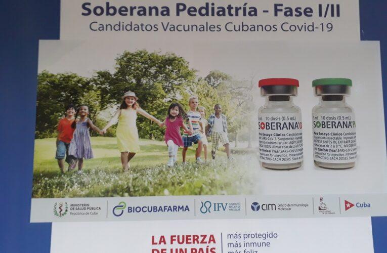 Comenzó en Cuba ensayo clínico Soberana-Pediatría en niños entre 3 y 11 años