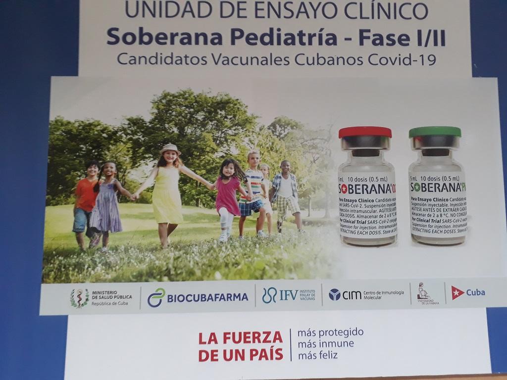 Comenzó en Cuba ensayo clínico Soberana-Pediatría en niños entre 3 y 11 años.