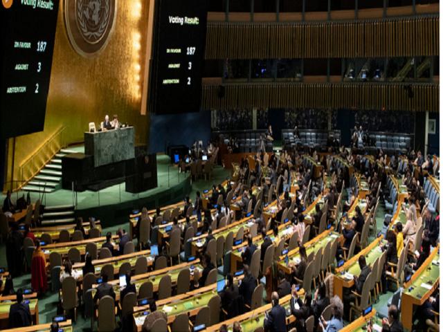 Pueblo respalda victoria de Cuba en  Asamblea General de Naciones Unidas (Audio)