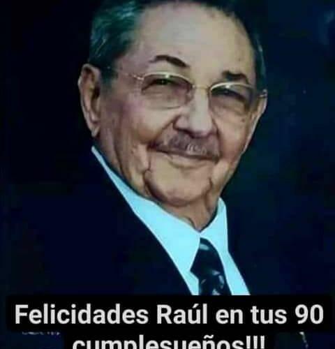 Los  90  años del mejor discípulo de Fidel (+ Fotos)
