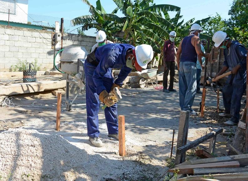 Acciones constructivas en Madruga